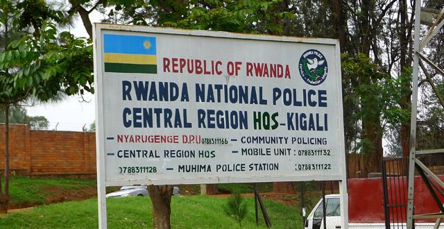 Police in Rwanda