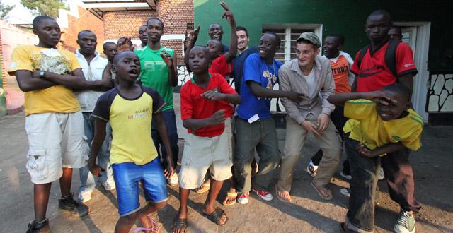 Dance Contest at FAV-Rwanda