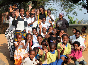 Teachers and Students at the Kinamba Project