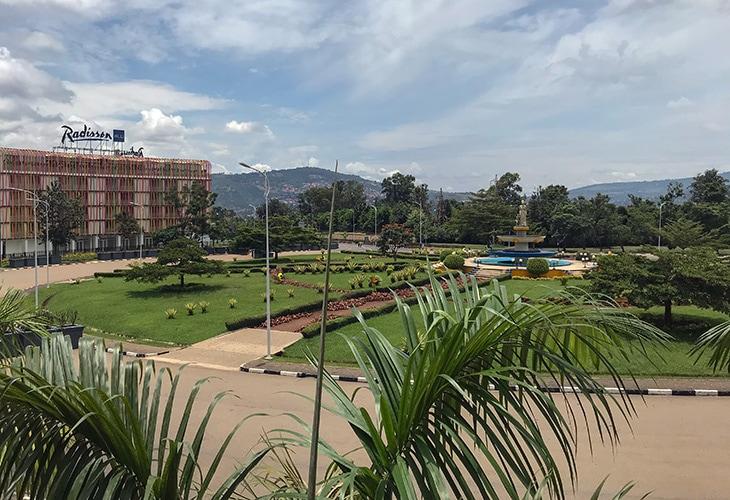 Wedding Roundabout, Kigali, Rwanda