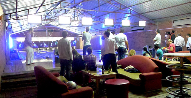 Bowling at Mamba Club