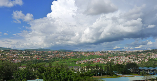 View from the MTN Centre in Nyarutarama