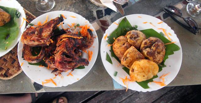 Rwiza Village, Chicken and Ibirayi