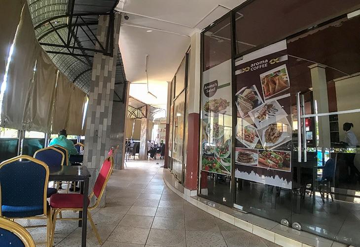 Aromas Coffee, Kigali