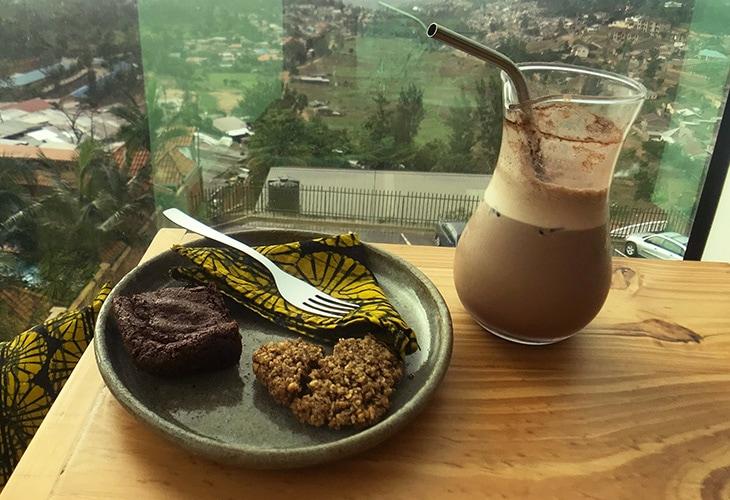 Brownie and Cookie, Inzora Rooftop Cafe, Kigali