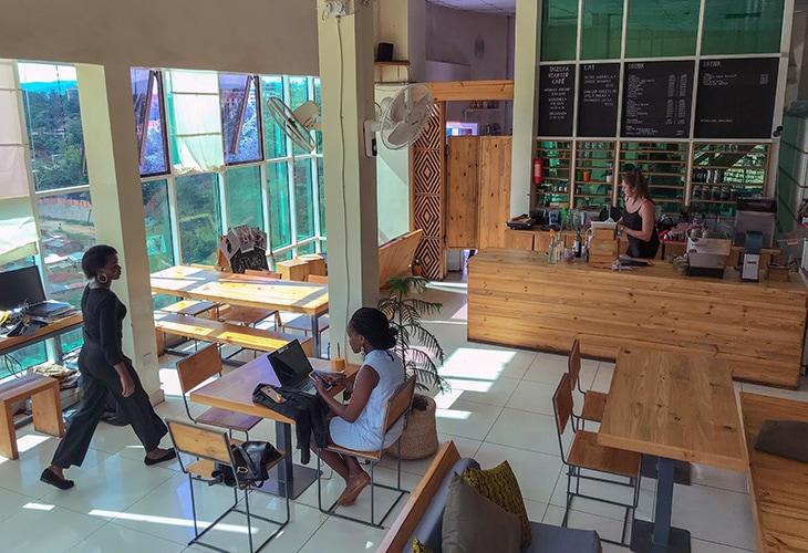 Inzora Rooftop Cafe, Kigali