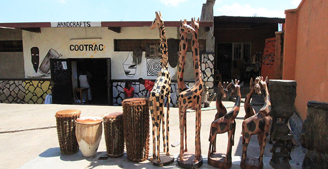 Rwandan souvenirs - COOTRAC Kigali, Rwanda