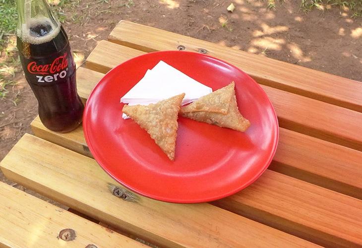 Samosas, Chapati, Kigali