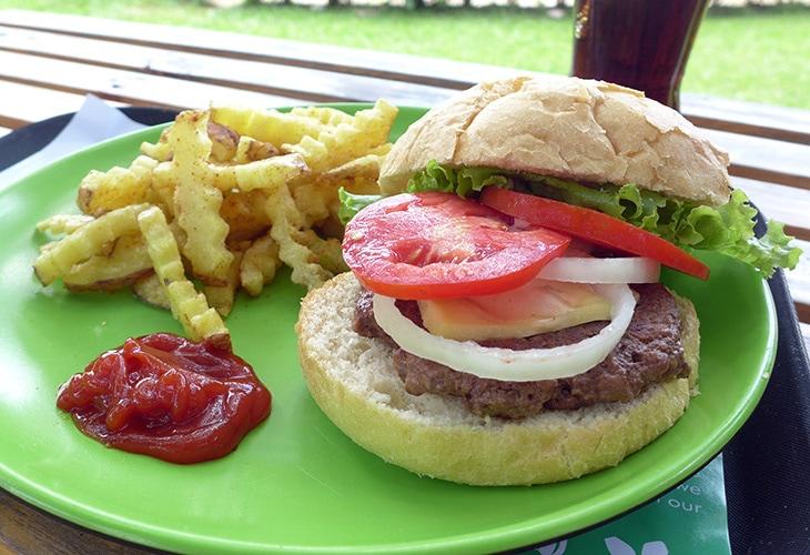 4 Blooms, Best Burger in Kigali