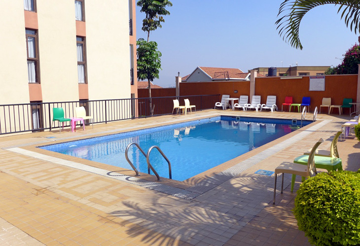 Highland Suites Hotel, Swimming Pools in Kigali