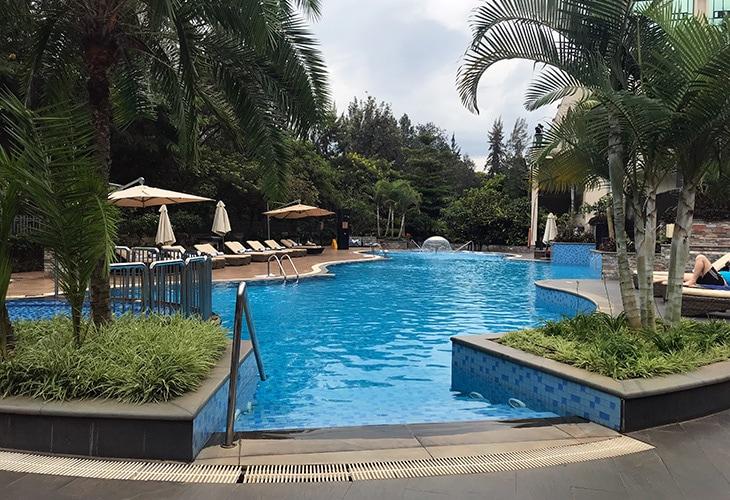 Marriott Hotel, Swimming Pools in Kigali
