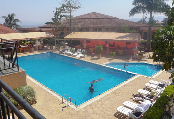 Sportsview Hotel, Swimming Pools in Kigali