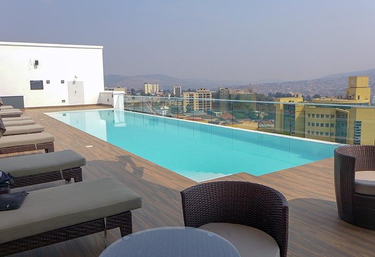 Ubumwe Grande, Swimming Pools in Kigali