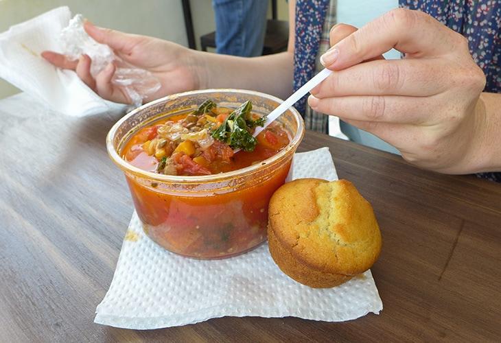 Soup, Turambe Shoppe, Kigali