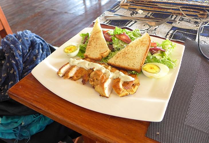 Caesar Salad, The Hut, Kigali