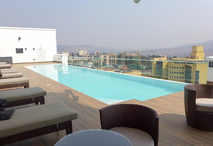 Swimming Pool, Ubumwe Grande, Kigali
