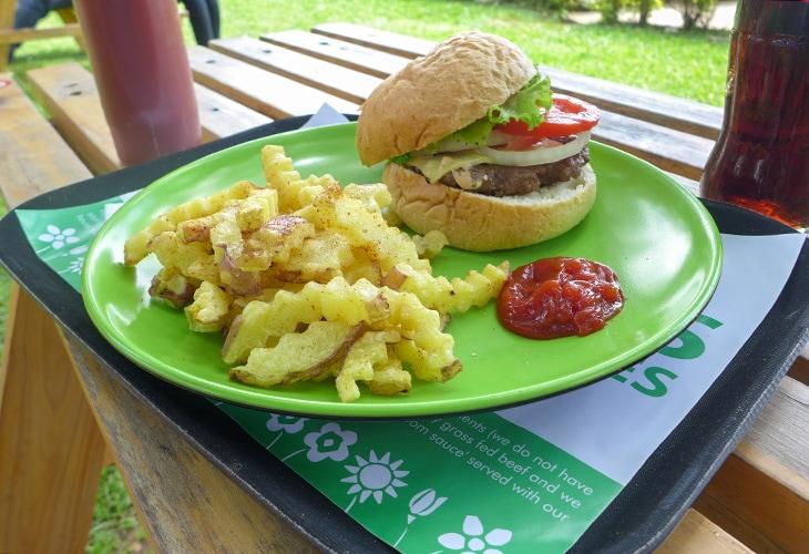 Burger, 4 Blooms, Kigali