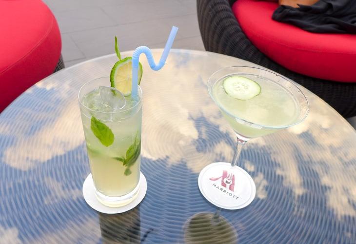 Cocktails, Iriba Bar, Marriott, Kigali