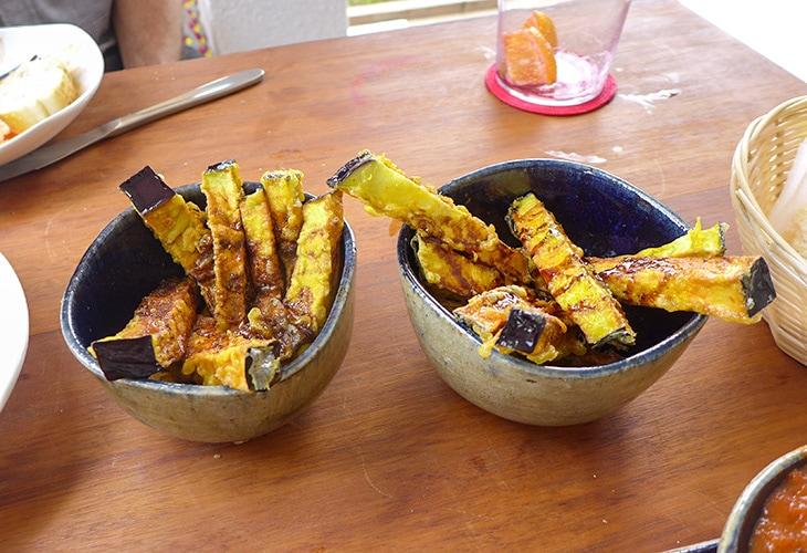 Eggplant, Casa Keza, Kigali