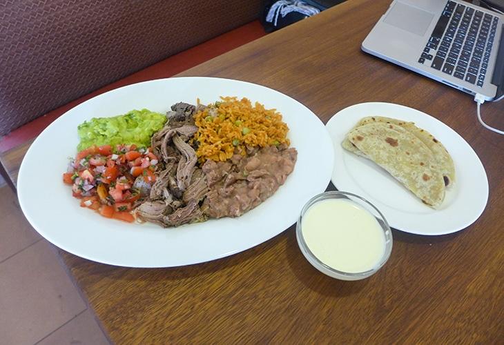 Pork Plate, Java House, Kigali