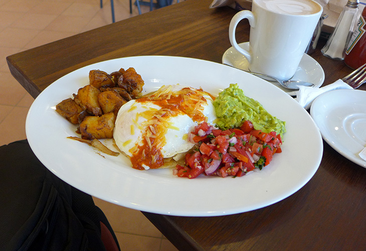 Huevos Rancheros, Java House, Kigali