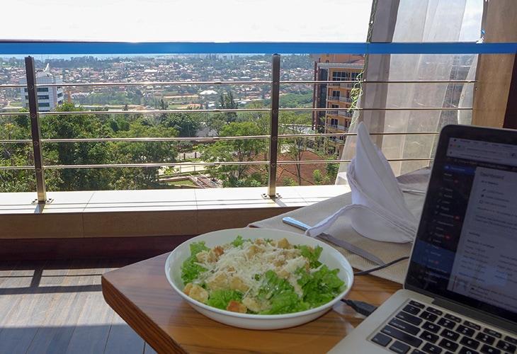 The Bistro, Urban, Working in Kigali