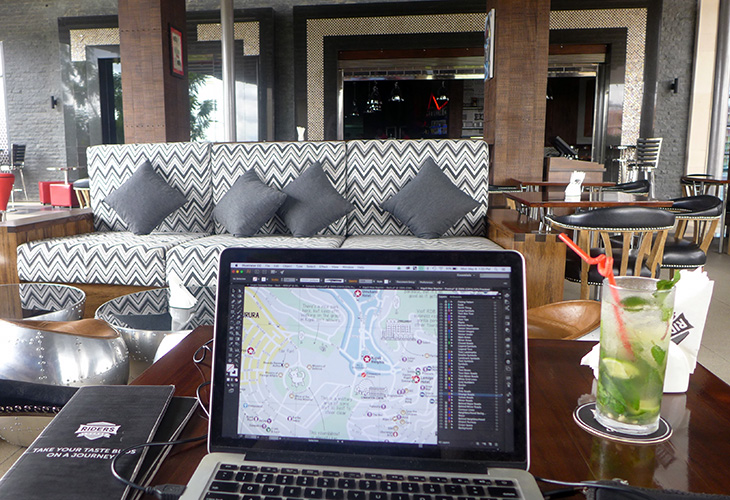 Rider's Lounge, Working in Kigali