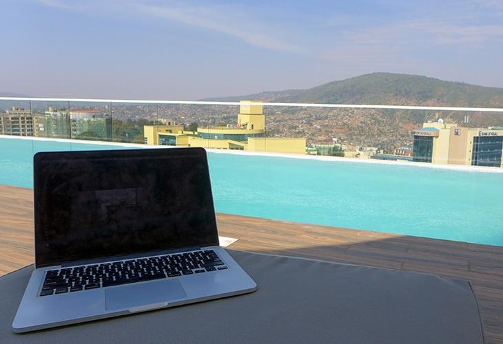 Ubumwe Grande, Working in Kigali