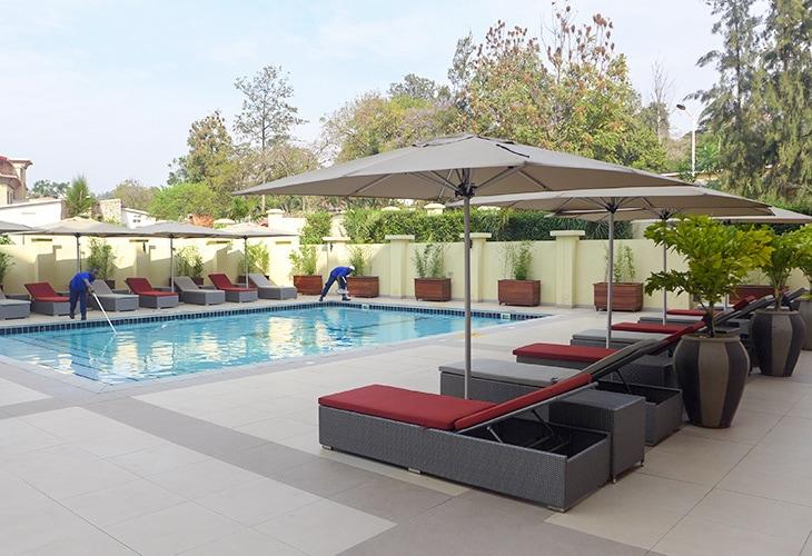 Pool, Park Inn by Radisson, Kigali