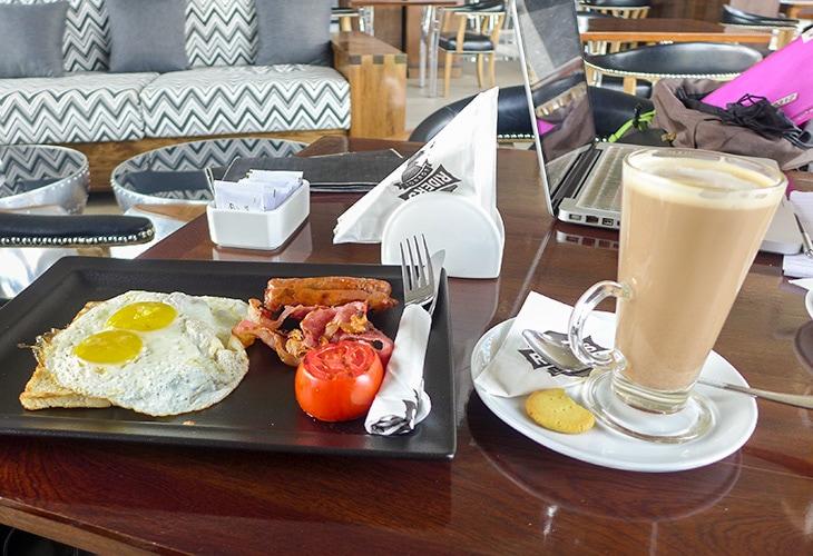 Breakfast, Rider's Lounge, Kigali