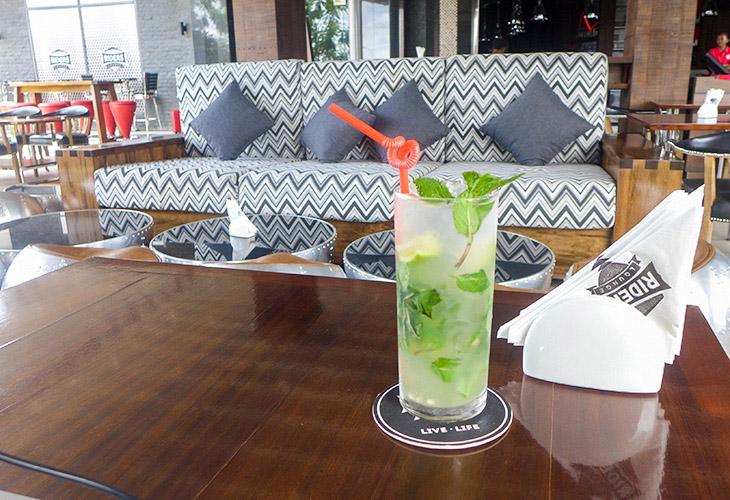 Mojito, Rider's Lounge, Kigali