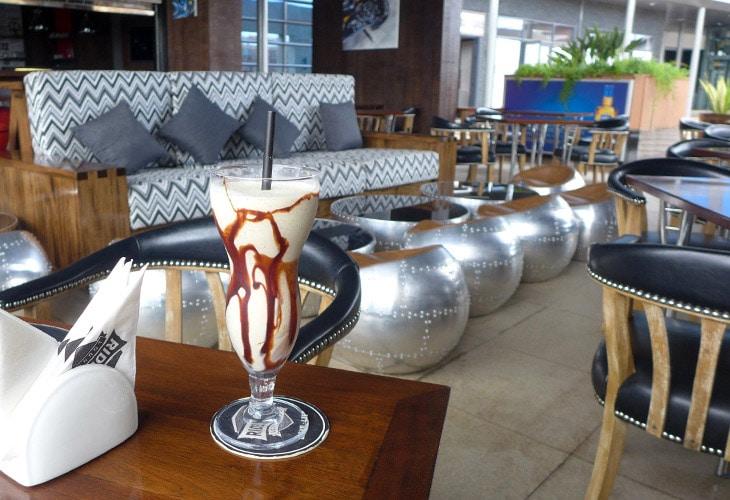 Milkshake, Rider's Lounge, Kigali