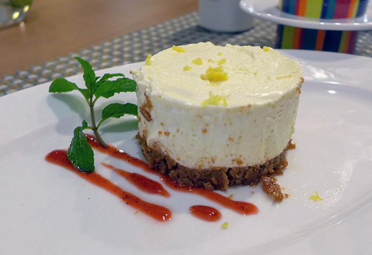 Cheesecake, Park Inn by Radisson, Kigali