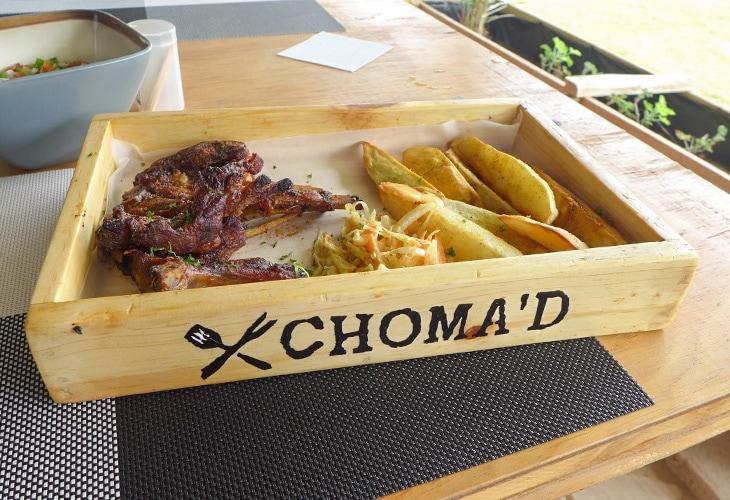 Ribs, Choma'd, Kigali