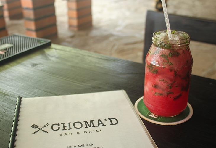 Cocktail, Choma'd, Kigali