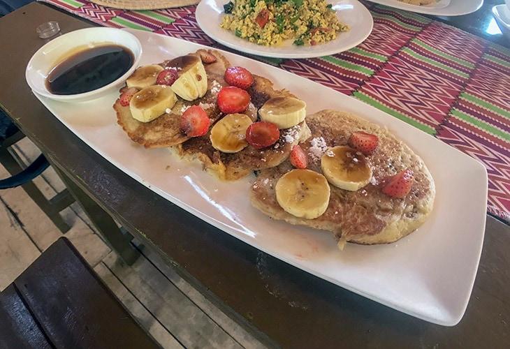 Pancakes, Afia Organics, Kigali