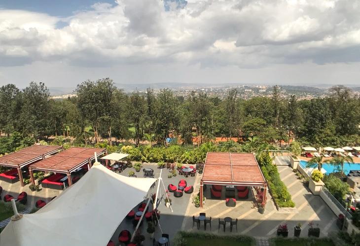View, Marriott Hotel, Kigali