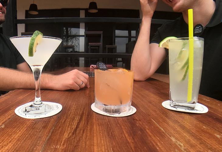 Cocktails, 1000 Hills Distillery, Kigali