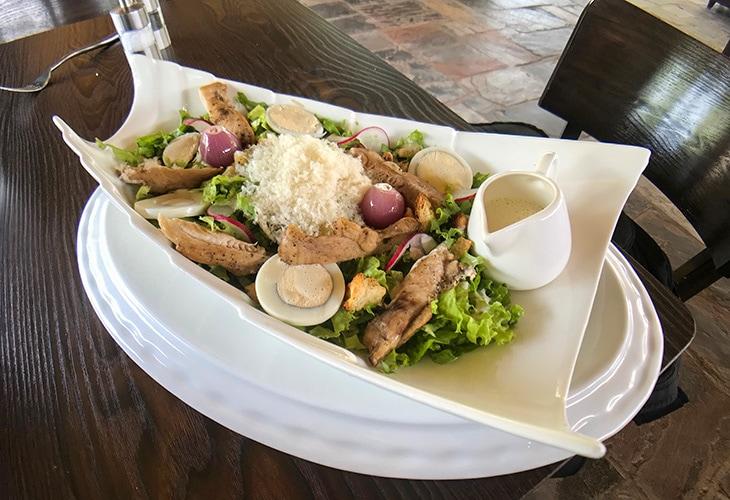 Caesar Salad, Inka Steakhouse, Kigali