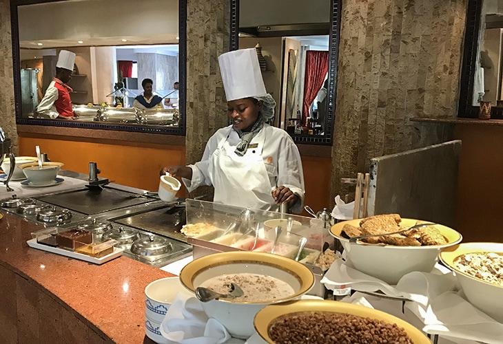 Weekend Buffet, Serena Hotel, Kigali