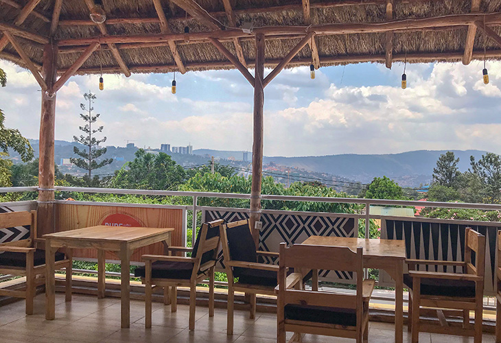 Pure Africa Coffee, Best Views in Kigali