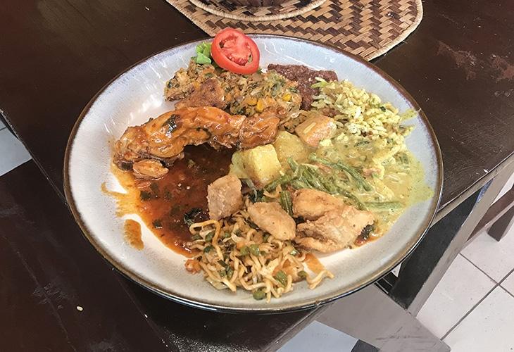 Buffet, Borneo Indonesian, Kigali