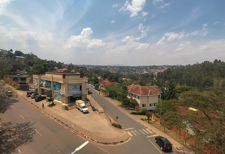 Living in Kiyovu, Kigali, Rwanda