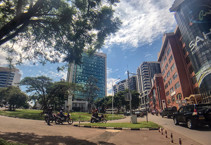Town, Downtown, Kigali