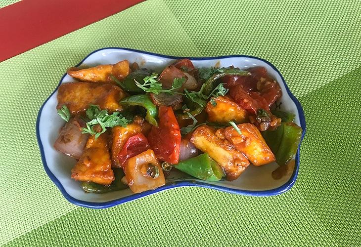Chili Paneer, Dine Divine, Kigali