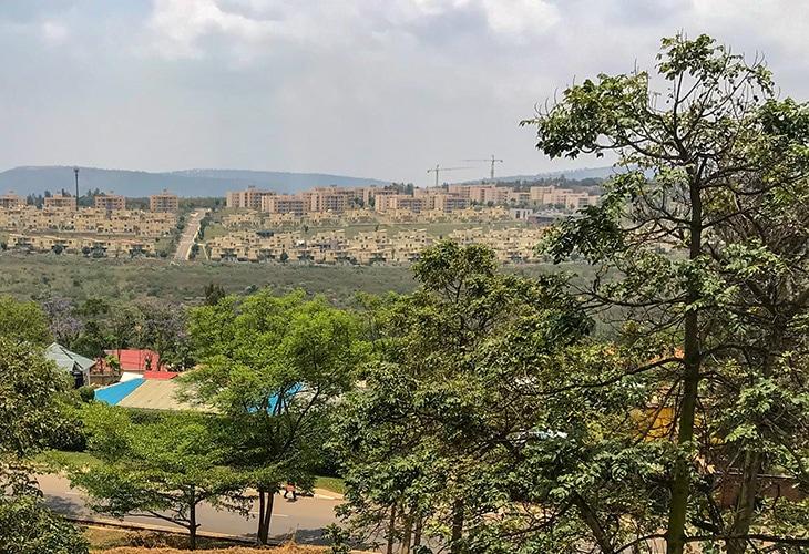 Living in Gacuriro, Kigali