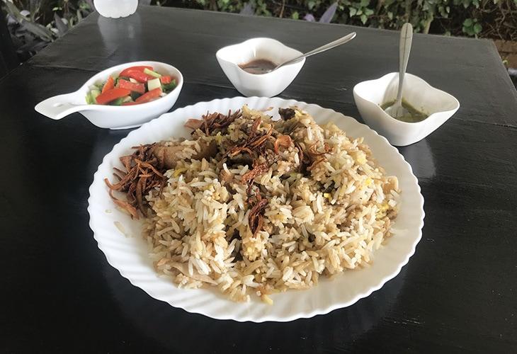 Chicken Zurbian, Mocha Cafe, Kigali