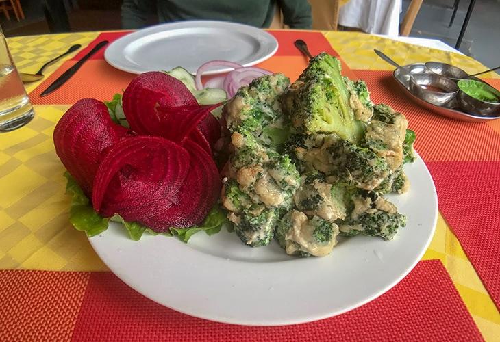 Malai Broccoli, Delhi Darbar, Kigali
