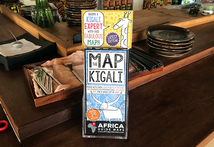 THE MAP - KIGALI